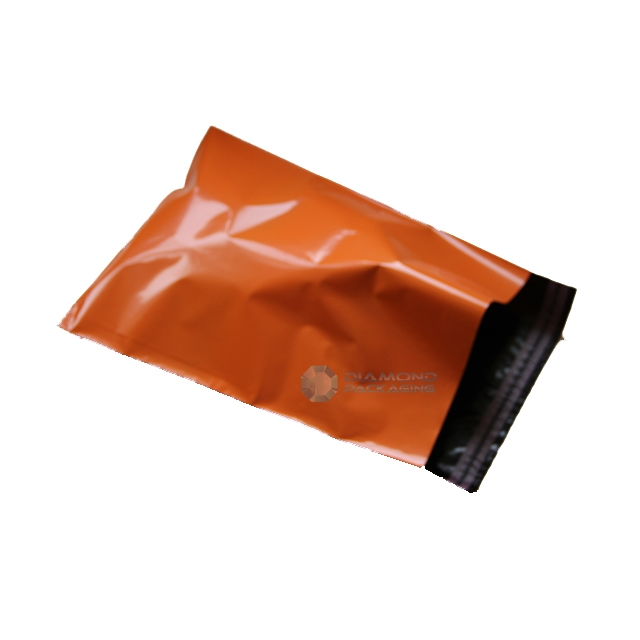 "500x ORANGE Mailing Bags 10x14"" - 250x350mm +Lip"