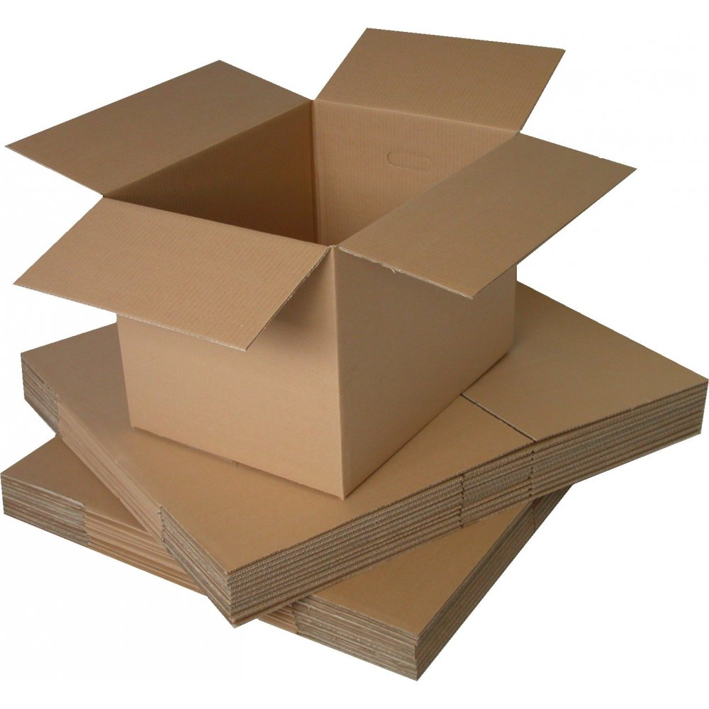 "1000 x SINGLE Wall 9x9x9"" Cardboard Mailing Postal Boxes"