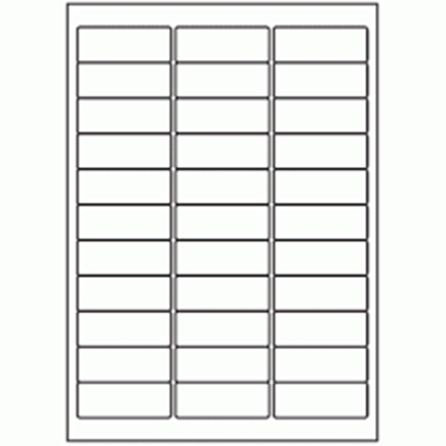 100x A4 sheets - 33 labels per sheet