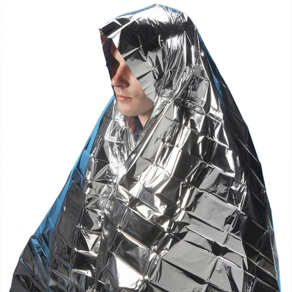 1x Emergency Foil Camping Blanket Hiking First Aid