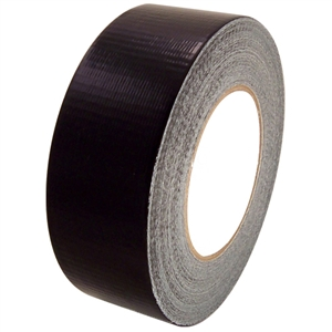 3x 50m BLACK DUCT - GAFFER Tape 48mm 2""